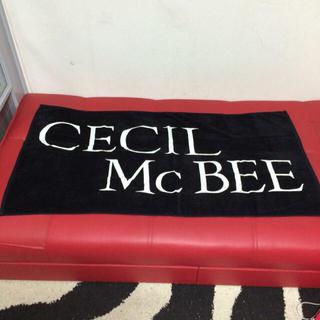 セシルマクビー(CECIL McBEE)のセシルマクビー バスタオル(その他)