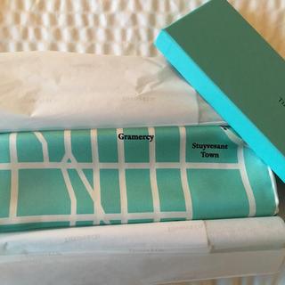 ティファニー(Tiffany & Co.)のTIFFANY Manhattan Map Scarf 五番街本店限定 スカーフ(バンダナ/スカーフ)