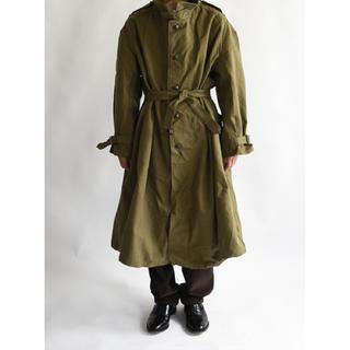 コモリ(COMOLI)の1950s military motorcycle coat deadstock(モッズコート)