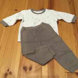 UNIQLO - baby UNIQLO キルトパジャマ 90