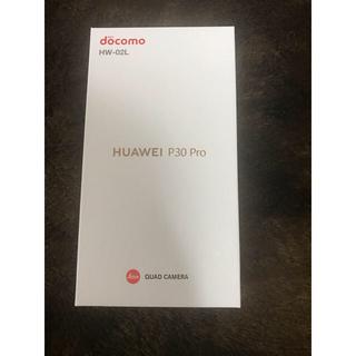 ANDROID - ドコモ版 Huawei P30 Pro HW-02L BLACK