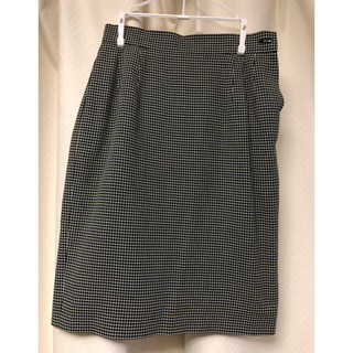 サンローラン(Saint Laurent)のイヴ サンローラン 膝丈スカート 36 (ひざ丈スカート)
