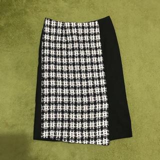 チェスティ(Chesty)のchesty ツイードスカート(ひざ丈スカート)