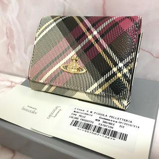 ヴィヴィアンウエストウッド(Vivienne Westwood)のチェック柄がま口財布❤️ヴィヴィアンウエストウッド(財布)