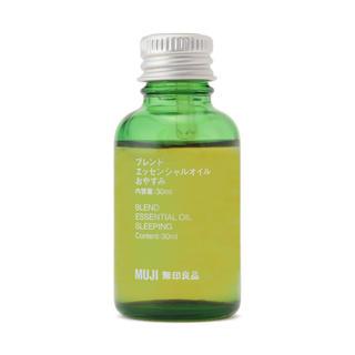 ムジルシリョウヒン(MUJI (無印良品))のブレンドエッセンシャルオイル・おやすみ 30ml(エッセンシャルオイル(精油))