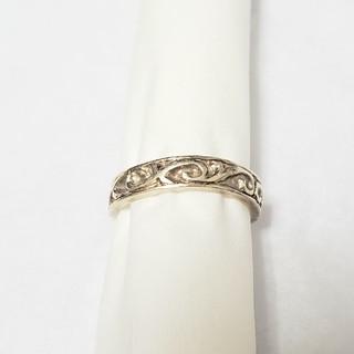 ウズ uzu シルバーリング アラベスク模様 唐草デザイン silver925(リング(指輪))