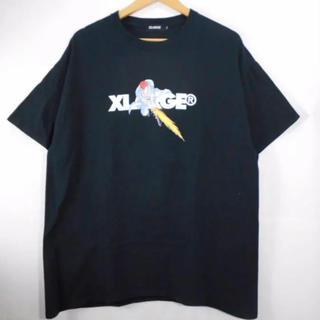 エクストララージ(XLARGE)のエクストララージ 幽遊白書 コラボ ロゴ 桑原 Tシャツ 黒 XLサイズ(Tシャツ/カットソー(半袖/袖なし))