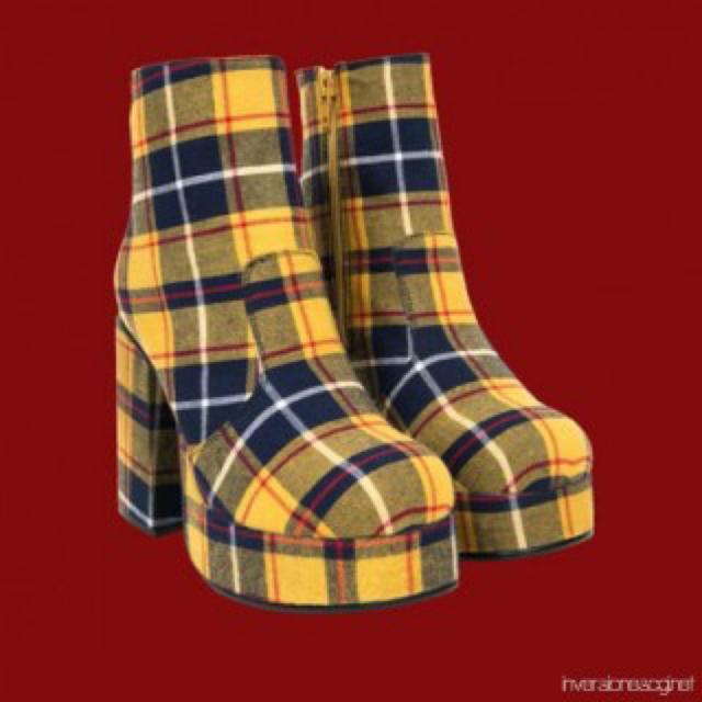 JOHN LAWRENCE SULLIVAN(ジョンローレンスサリバン)の【メンズサイズ】厚底ブーツ ロンドンブーツ ヒールブーツ unif 27cm メンズの靴/シューズ(ブーツ)の商品写真
