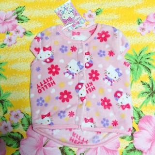 西松屋 - Kitty♥新品タグ付き♥フリースベスト♥80cm