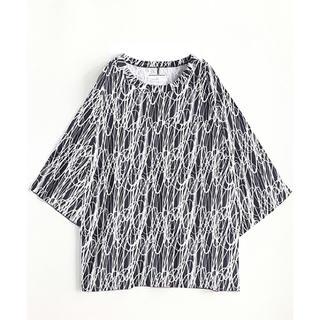 シャリーフ(SHAREEF)のSHAREEF ドローイングパターンビッグTee(Tシャツ/カットソー(半袖/袖なし))