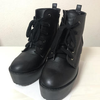 イング(INGNI)のショートブーツ 厚底ブーツ INGNI(ブーツ)