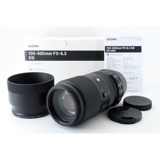SIGMA - ★美品★シグマ 100-400mm F5-6.3 DG OS HSM