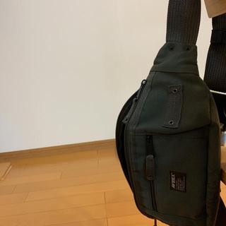 アヴィレックス(AVIREX)のAVIREX AVX3521 ウエストバッグ ボディーバッグ カーキ色(ボディーバッグ)