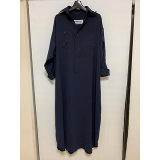 イエナ(IENA)の今季 ブルーバードブルバード ツイルワッシャーシャツドレス ワンピース(ロングワンピース/マキシワンピース)