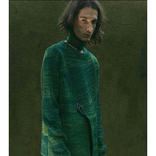 ラフシモンズ(RAF SIMONS)のnamacheko 18aw knit(ニット/セーター)