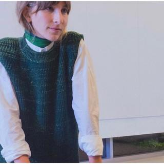 RAF SIMONS - namacheko 18aw knit vest
