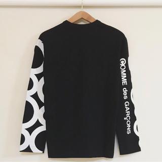 コムデギャルソン(COMME des GARCONS)の青山本店限定 送料込 新品 コムデギャルソン ロングスリーブ ブラック(Tシャツ/カットソー(七分/長袖))