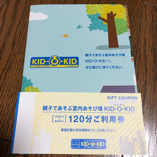 BorneLund(ボーネルンド)のボーネルンド キドキド 利用券 1枚 チケットの施設利用券(その他)の商品写真