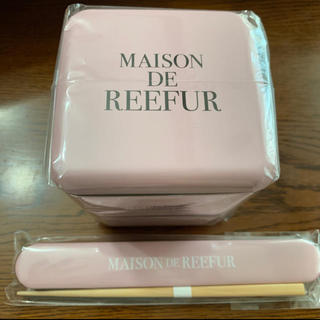 メゾンドリーファー(Maison de Reefur)のメゾンドリーファー  スクエアネストランチ お弁当箱 箸箱セット(弁当用品)
