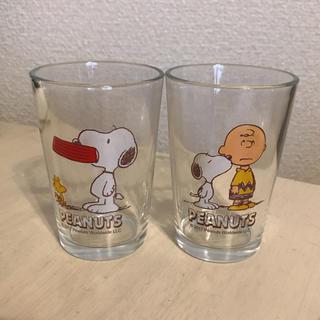 スヌーピー(SNOOPY)の新品 スヌーピーペアグラス(グラス/カップ)