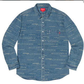 シュプリーム(Supreme)のDimensions Logo Denim Shirt (シャツ)