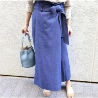 Noble - NOBLE  ブッチャーオーバータック ロングタイトスカート