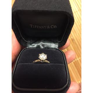 ティファニー(Tiffany & Co.)のTIFFANY ダイヤモンドリング ティファニーセッティング 1.08 (リング(指輪))