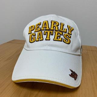 パーリーゲイツ(PEARLY GATES)のパーリーゲイツ ゴルフキャップ(キャップ)