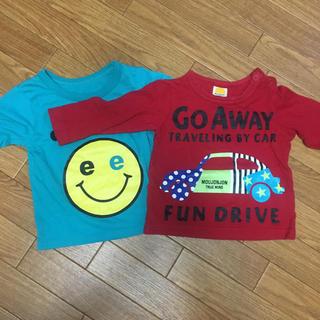 ムージョンジョン(mou jon jon)のTシャツ 80 2枚(Tシャツ)