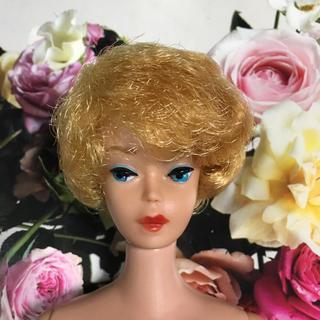 バービー(Barbie)の当時物 1950年代 後半 ビンテージバービー ゼブラスイムスーツ 美品(ぬいぐるみ/人形)