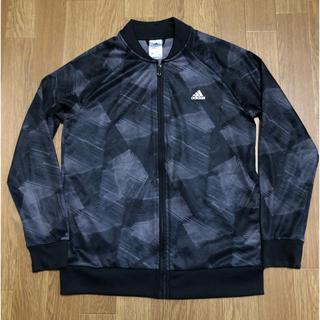 アディダス(adidas)のadidas ジャージ 160センチ 黒(ジャケット/上着)