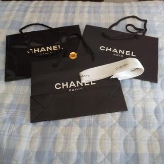 CHANEL - ショップ袋とリボン
