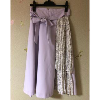 ミッシュマッシュ(MISCH MASCH)のミッシュマッシュ  ウエストリボンスカート(ひざ丈スカート)
