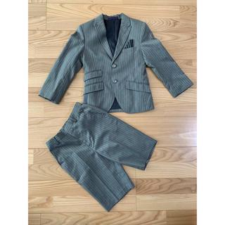 ヒロミチナカノ(HIROMICHI NAKANO)の中野裕通 ヒロミチナカノ ナカノヒロミチ スーツ フォーマル  120 グレー(ドレス/フォーマル)