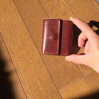 アーバンリサーチ(URBAN RESEARCH)のアーバンリサーチ 栃木レザー ミニ財布(折り財布)