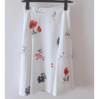 ミッシュマッシュ(MISCH MASCH)の花柄スカート ミッシュマッシュ  新品未使用(ひざ丈スカート)