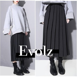 IENA - 大人気 太プリーツ シンプル ロングスカート