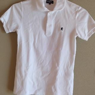 GYMPHLEX - ジムフレックス 白ポロシャツ サイズ12 美品