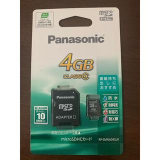 Panasonic - Panasonic 4GB CLASS④ microSDHCカード