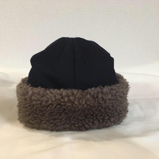 nest Robe(ネストローブ)のマチュアーハ mature.ha ボアキャップ レディースの帽子(ニット帽/ビーニー)の商品写真