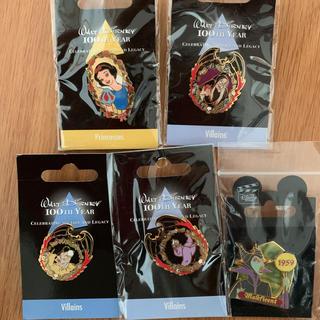 Disney - 白雪姫 ヴィランズ ピンバッジ セット
