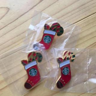 Starbucks Coffee - 1つ300円 スターバックスのクリスマス限定 ピンバッチ
