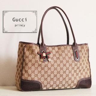 Gucci - 正規品 GUCCI シェリーライン プリンシー トートバッグ
