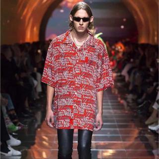 バレンシアガ(Balenciaga)の美品 タグ ハンガー付き*バレンシアガ ビッグシャツ オーバーサイズ ルーズ型(シャツ)