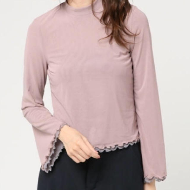 Lily Brown(リリーブラウン)のリリーブラウン  lily brown トップス 袖フリル ブラウス レディースのトップス(シャツ/ブラウス(長袖/七分))の商品写真