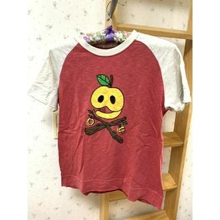 ドラッグストアーズ(drug store's)のドラッグストアーズ キッズ Tシャツ 半袖 りんご ドクロ(Tシャツ/カットソー)