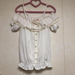 リズリサ(LIZ LISA)のLIZ LISA♡オフショルトップス(シャツ/ブラウス(半袖/袖なし))