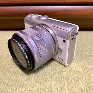 Canon - 美品❗️軽くて使いやすい✨キャノン Canon EOS M100 レンズセット