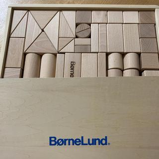 ボーネルンド(BorneLund)のボーネルンド 積み木 白木 M(積み木/ブロック)