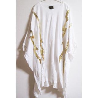 ヴィヴィアンウエストウッド(Vivienne Westwood)のヴィヴィアンウエストウッド アングロマニア ビッグTシャツ(カットソー(長袖/七分))